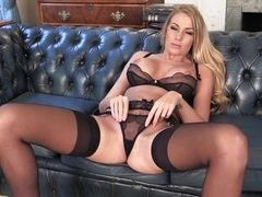 naughty british in sexy lingerie